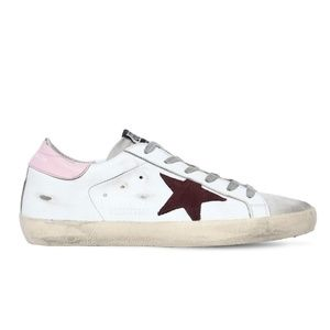 NEW Golden Goose Leather Sneakers